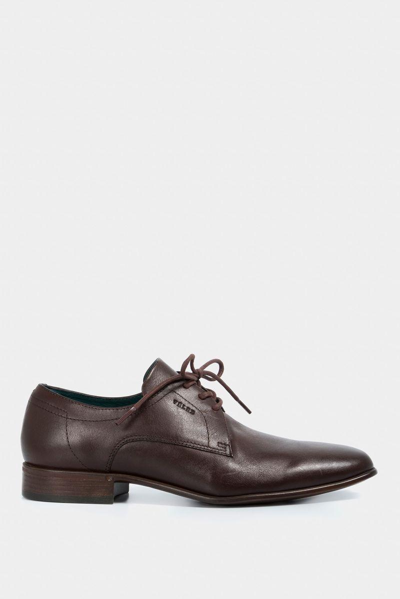 Zapatos-con-cordon-de-cuero-