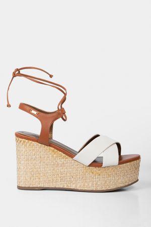 Sandalia Plataforma de cuero