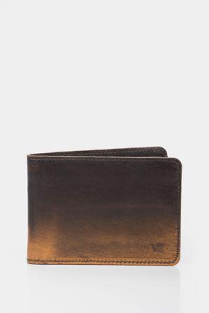 Billetera pietro de cuero envejecido manual