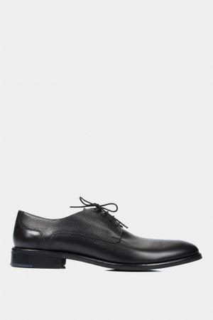 Zapatos formal de cuero liso