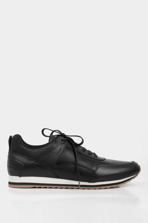 Sneakers deportivos de cuero vintage